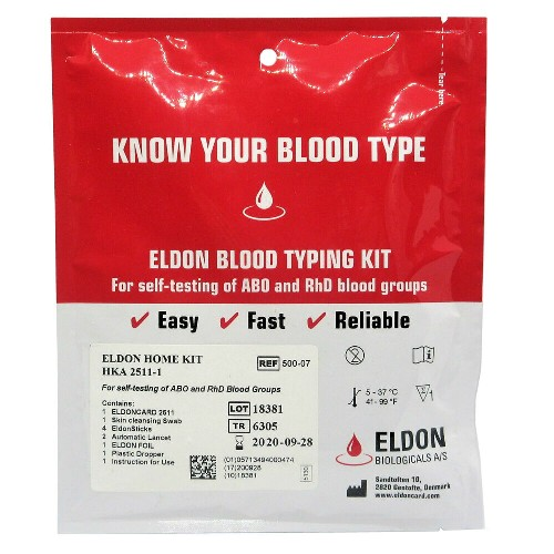 Blood Type Test Kits